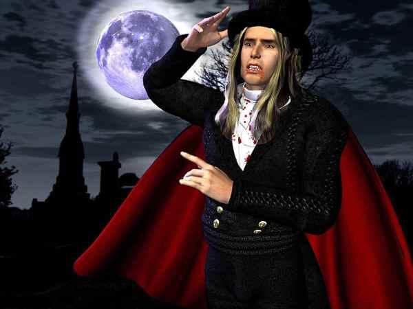 как сделать костюм Дракулы