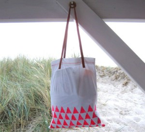 самодельная сумка для покупок маме