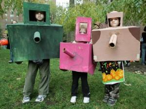 костюм на Хэллоуин из коробки
