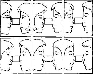 конкурс со спичечным коробком на носу