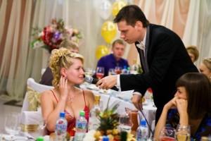 Прилагательное и существительное - конкурс на свадьбу