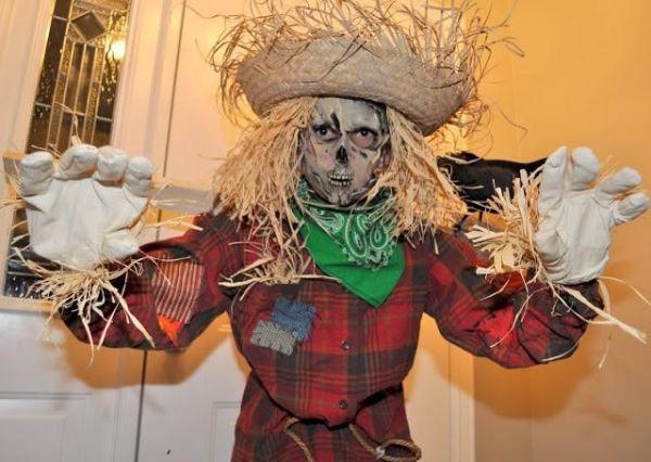 костюм Пугало своими руками на День всех святых