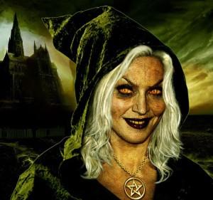 старуха ведьма - костюм на Хэллоуин
