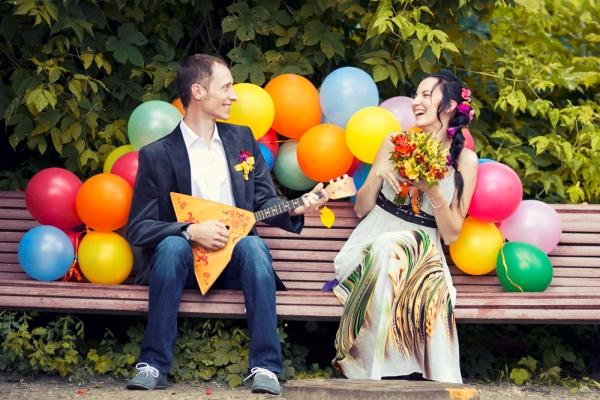 музыкальные инструменты на свадебную фотосессию