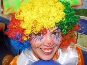 клоун Кнопа на день рождения