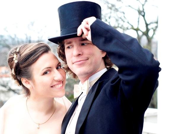 свадебная фотосессия в шляпах