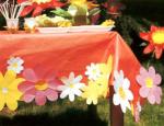 украшение стола на день рождения