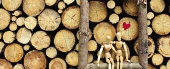 делаем подарок на деревянную свадьбу