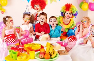 окончание детского праздника