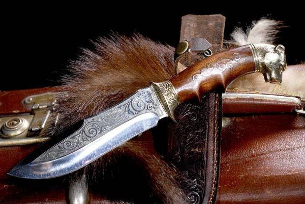нож защищает от нечисти и врагов