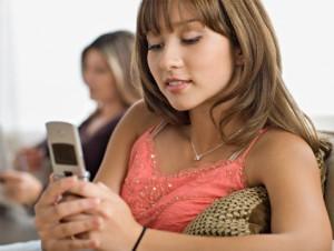 поздравить девушку коллегу самым первым - по СМС
