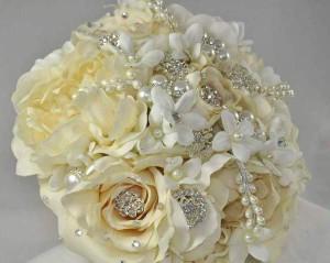 декор букета невесты