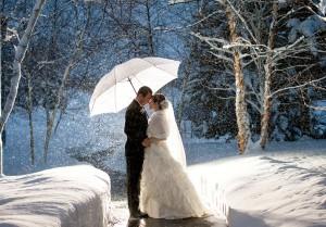 выйти замуж зимой