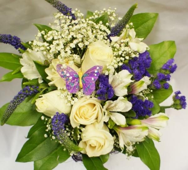 свадебный букет из роз в стиле Натуральность