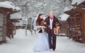 где можно провести свадьбу зимой
