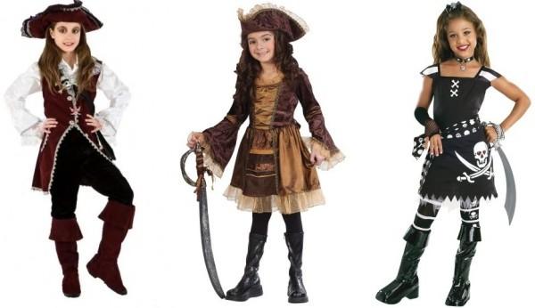высокие сапоги ботфорты пиратские для девочек на карнавал
