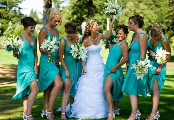 дресс-код для подружек невесты