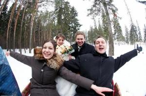 чем развлечь гостей на зимней свадьбе