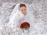букет невесты для зимней свадьбы