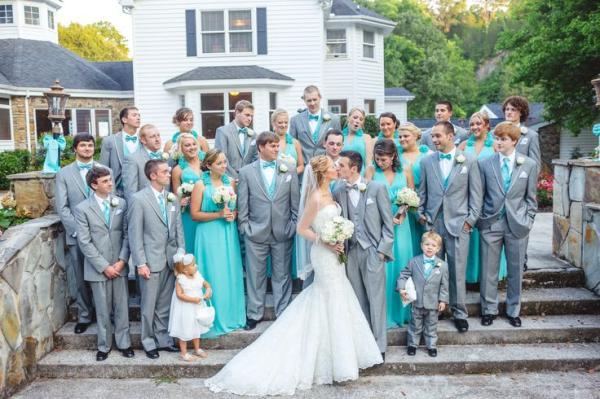 как одеться гостям на свадьбу Завтрак у Тиффани