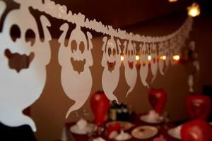 оформление помещения на день рождения в стиле Хэллоуин