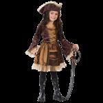 новогодний костюм пирата для девочки