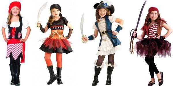 Костюм пиратки для младшей школьницы