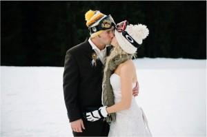 зимние свадебные фотосессии - нетрадиционные идеи