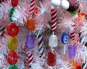 конфеты и пряники для новогодних елок