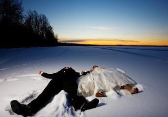 свадьба зимой смелые идеи
