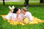 свадебные фотосессии летом идеи