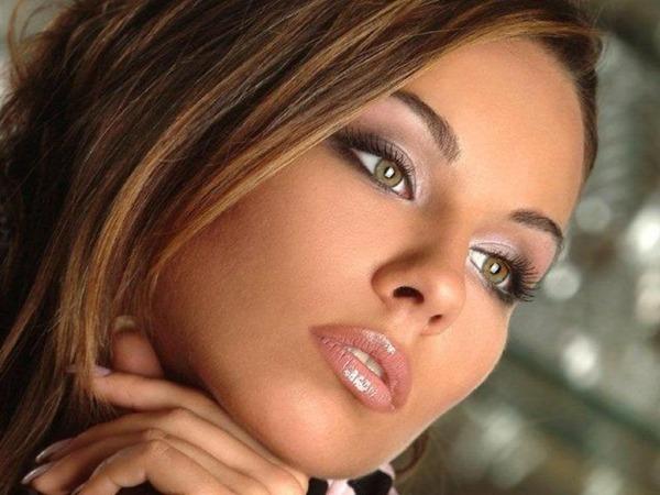 макияж невесты в гармонии с губами