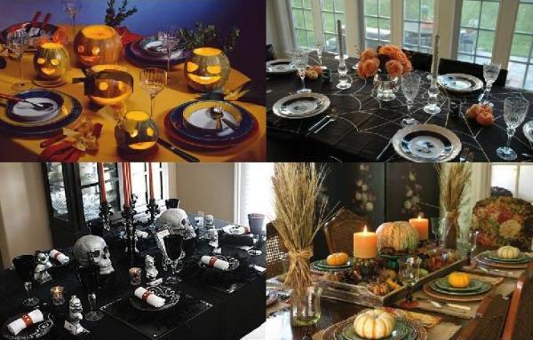Как оформить стол на ДР в стиле Хэллоуина