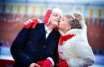 зимняя свадебная фотосессия идеи