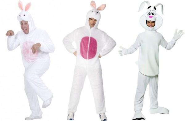 Белый кролик костюм на новый год взрослому