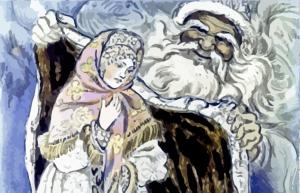 кто участвует в новогодней сказке морозко