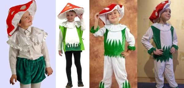 как сделать наряд Гриба-мухомора на карнавал
