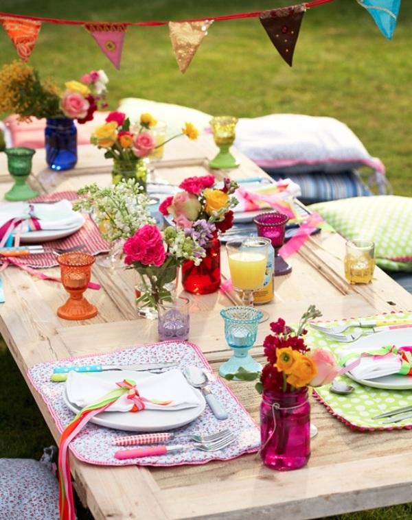 использование особой мебели на тематической свадьбе Бохо