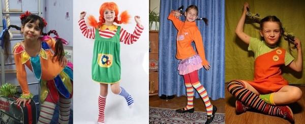 озорной новогодний костюм для девочки
