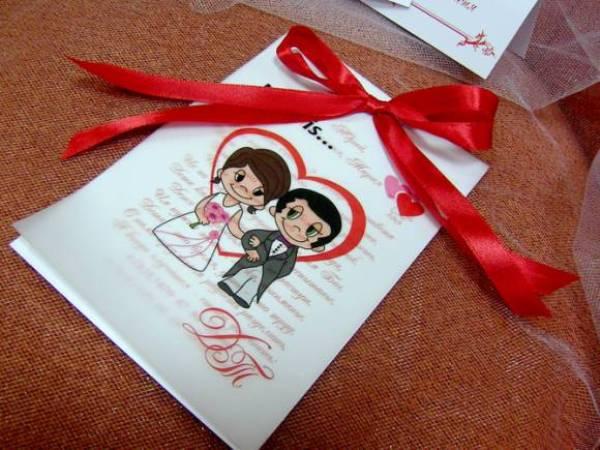свадебное приглашение в стиле Любовь это