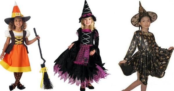 костюм ведьмочки новогодний