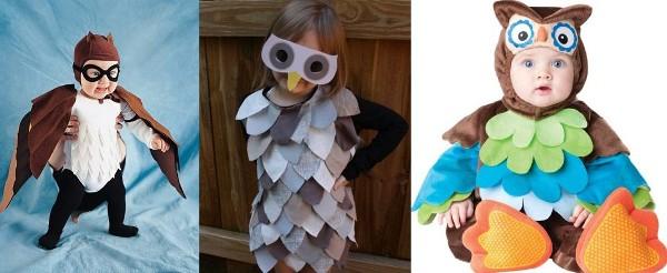 новогодний костюм Мудрого совенка для девочки