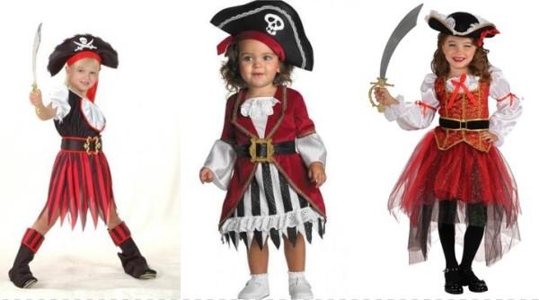наряд пиратки новогодний для девочек