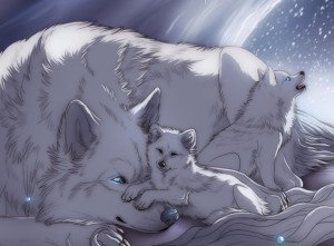 волчица с волчатами в сказке морозко
