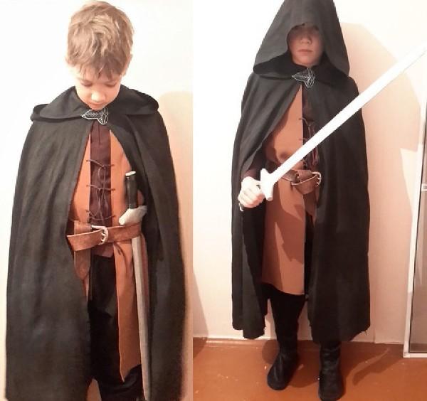 новогодний костюм для мальчика Арагорн