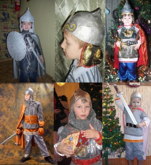 новогодний костюм для мальчика Богатыря