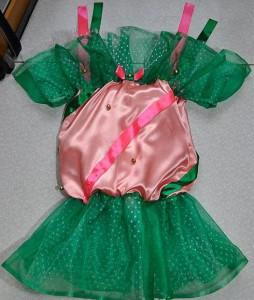 самодельный новогодний костюм конфетки для девочки