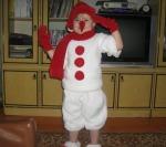 новогодний костюм снеговика для мальчика