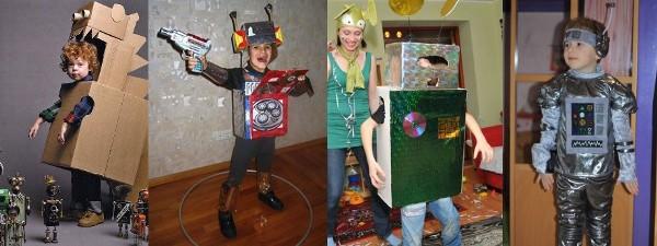 наряд на карнавал - Робот