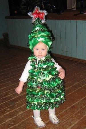 наряд елки на новый год для девочек - советы рукодельницам